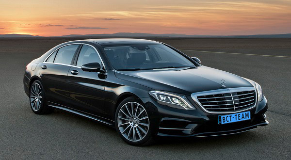 2014 Mercedes Benz S Class Businessclass Taxi